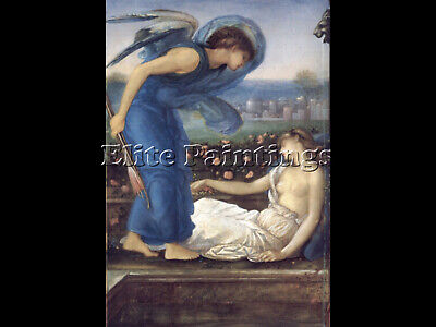 Cupid Finding Psyche Artist Painting Reproduction Handmade Oil Canvas Repro Deco
