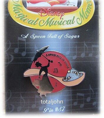 Disney Magical Musical Moments # 87 A Spoon Full of Sugar PIn