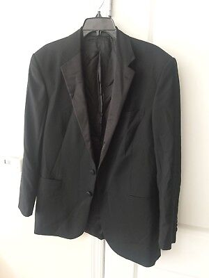 New RALPH LAUREN Black Label Black Anthony Tuxedo Sz 42 R Pant 35/31 $2450
