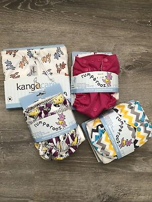 Rumparooz One Size Cloth Diaper NWT Lot