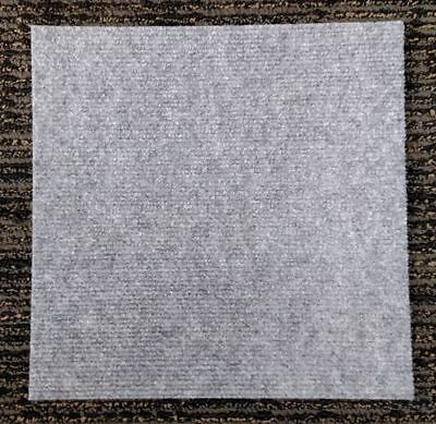 Carpet Tiles Peel and Stick 72 Square Feet Gray Self Adhesive Squares