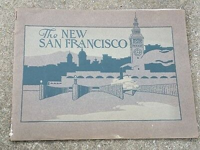 Souvenir Travel Booklet San Francisco Exposition 1915