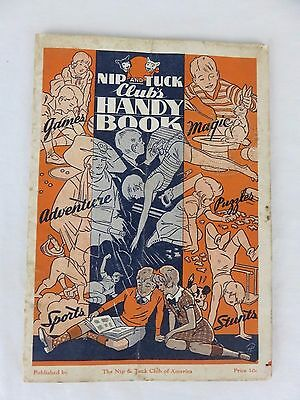 Nip and Tuck Club's Handy Book from 1935