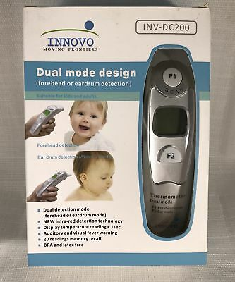 Innovo Forehead And Ear Thermometer (Dual mode design INV-DC 200