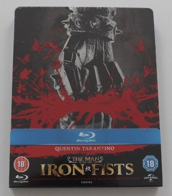 The Man with the Iron Fists - Steelbook, Kinofassung + Extendet Cut, Blu-ray