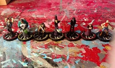 Horrorclix Lot AC Base Set The Lab Freakshow 7 mini lot wizkids
