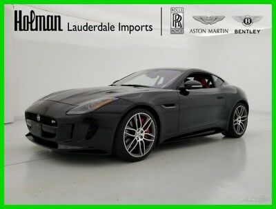 Jaguar F-Type F-TYPE R V8 AWD COUPE 2017 17 JAGUAR F-TYPE R V8 AWD COUPE * SERVICED * LOADED * SUPER CLEAN * FL