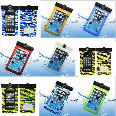 Universal Waterproof Neck Arm Band Dry Bag Case Cover Compass For Cell Phone US