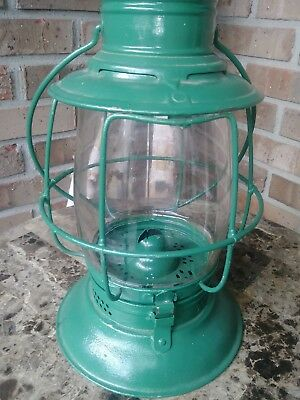 Cash and Baron Ohio railroad lantern from the 1800's not Dietz Ham Buhl Berger