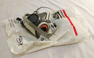 3M 6100/07024 Reusable Respirator Half Facepiece Mask Only New SMALL