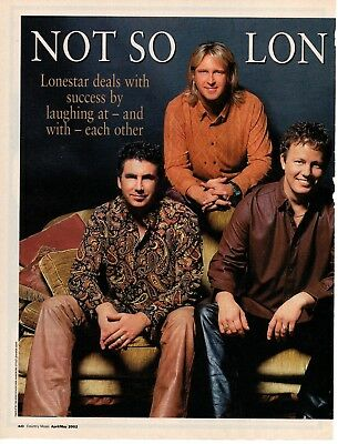 Lonestar 5 Page 2002 Magazine Article Clipping 7 Pictures Country Music
