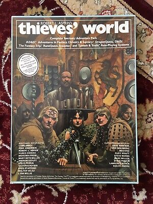 Thieves World Chaosium RPG Background City Boxed Set - 1980s