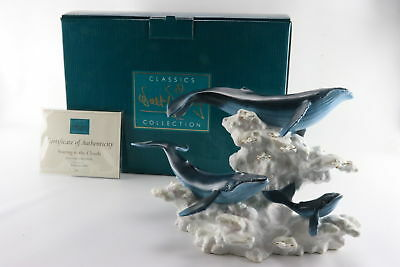 "Disney WDCC ""Soaring In The Clouds"" Whale Family Limited Edition 1005/2000"