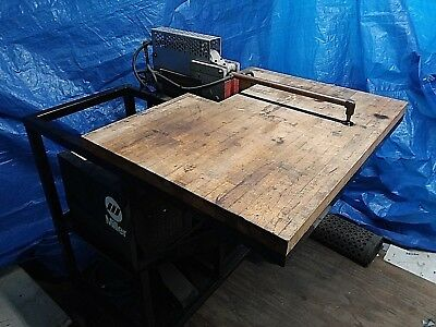 Miller Resistance / Spot Welder With Liquid Cooling System And Wheeled Cart