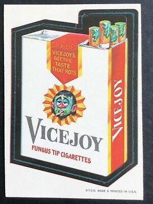 1973 Topps Wacky Packages Original 1st Series VICEROY BLACK LUDLOW Very Rare