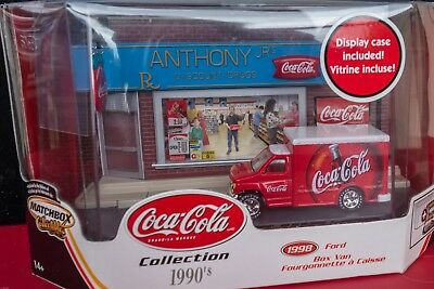 Matchbox Collectibles 1998 Ford Box Van Anthony's Pharmacy With Display  - New