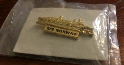 SS Norway Collectible Lapel Pin FREE Ship!