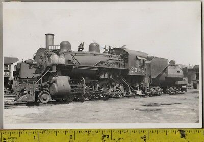 Vintage 1910 RPPC Southern Pacific Lines Locomotive No. 2385 At A Train Yard