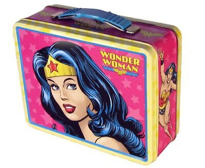 Brand New in Package Wonder Woman Collectible Lunchbox
