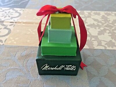 Marshall Field's Department Store Presents Ornament