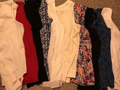 Women's Shirt Lot Size M Business Business Casual Dress Huge Lot