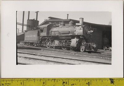 Vintage 1910 RPPC Southern Pacific Lines Locomotive No. 2386 At A Train Yard