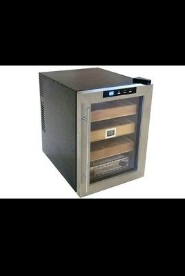 The Clevelander cigar cooler humidor has 250 capacity for your cigars.