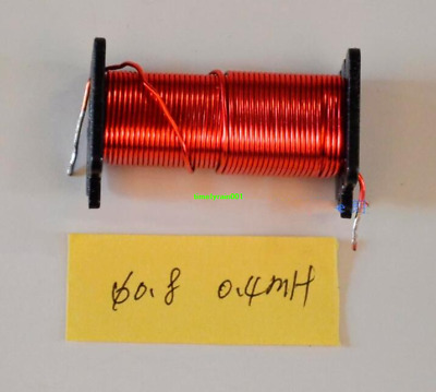 Φ0.8 0.4mH Divider inductor Audio Crossover inductor copper coil Speaker parts