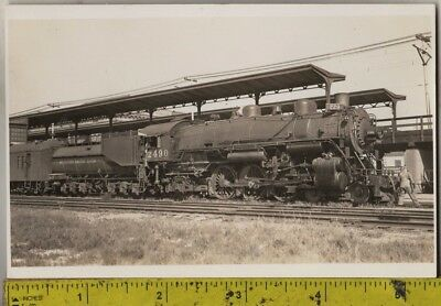 Vintage 1910 RPPC Southern Pacific Lines Locomotive No. 2490 At Station