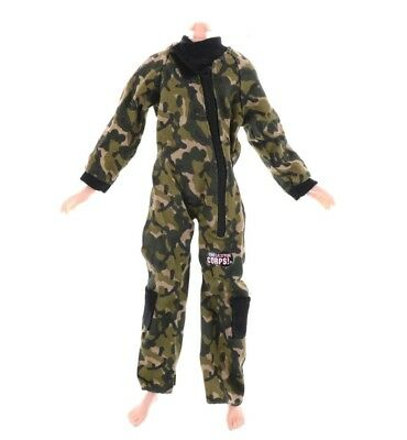 ken doll barbie clothes outfit army navy fatigues uniform