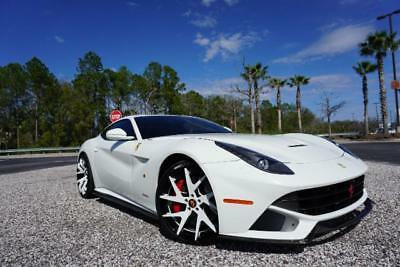 2013 Ferrari F12 Berlinetta  2013 FERRARI F12 BERLINETTA-7YR MAINT PROGRAM/CUSTOM FORGIATOS/CUSTOM CARBON FIB