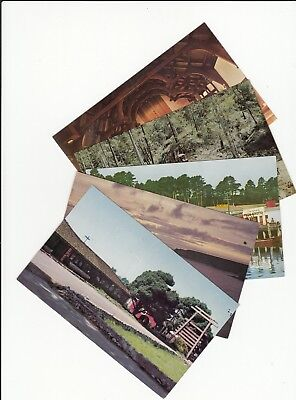 Lot of 5 Fort Bragg CA California Vintage Era Postcards Mendocino County CAL