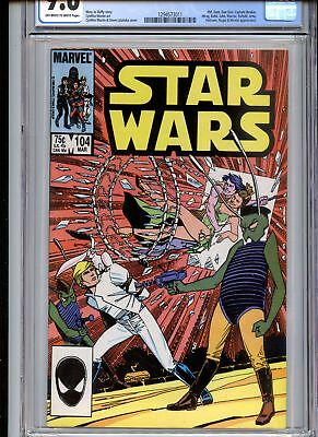 Star Wars #104 CGC 9.6 White Pages
