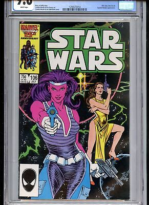Star Wars #106 CGC 9.6 White Pages Scarse