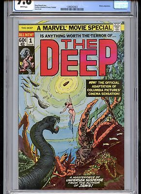 The Deep #1 CGC 9.8 Marvel Movie White Pages