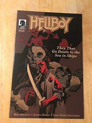 Hellboy Konami SDCC Exclusive Variant They That Go Down To The Sea In Ships