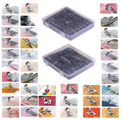 52PCS Domestic Sewing Machine Foot Presser Feet Set For Brother Singer Janome AU