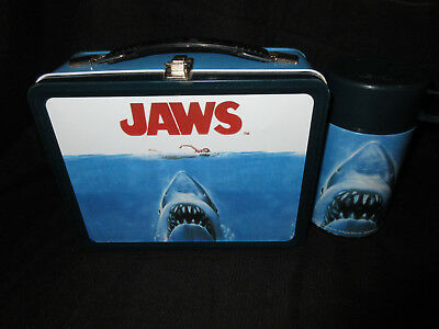 Jaws Lunch Box & Thermos * Vintage * LIMITED EDITION NECA Lunchbox Set * Shark