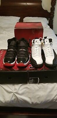 official photos 446c4 f134a Nike Air jordan 11 Bred  12 TAXI retro Collezione count down PACK (338149  991