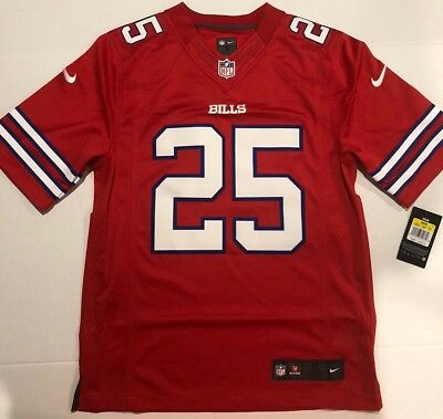 1cbed9c46 Nike LeSean McCoy Buffalo Bills Mens Size SMALL NFL Football Jersey 808023  658
