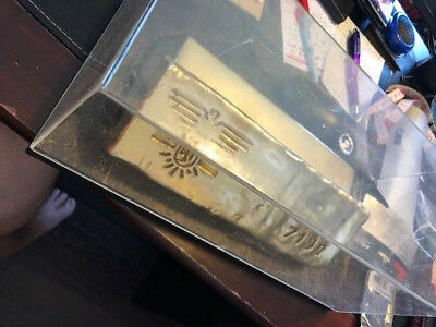James Bond 007 Replica Props 2 Different Gold Bars From Goldfinger
