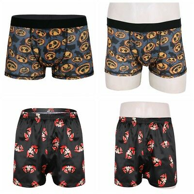 Mens Halloween Boxers Shorts Underpants Brief Underwear Adults Sexy Trunks Pants