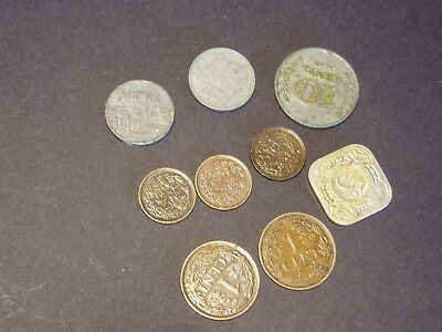 Netherlands - 9 Different Coins