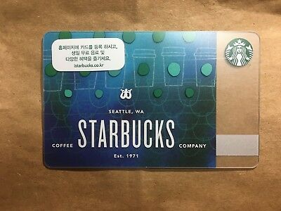 Starbucks Korea 2018 Siren Scale Card