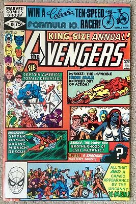 Avengers Annual #10 (1981) 1st App Rogue & Madelyn Pryor! Key Issue!  NICE COPY!