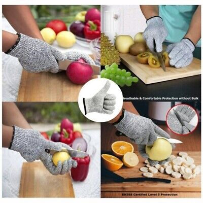 US Gloves Working Protective Cut-Resistant Safety Kitchen Cooking Glove Lever 5