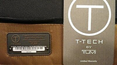 Tumi T-Tech Tesla Tri-fold Carry-on Garment Bag 56133D Great GiftNew with Tags