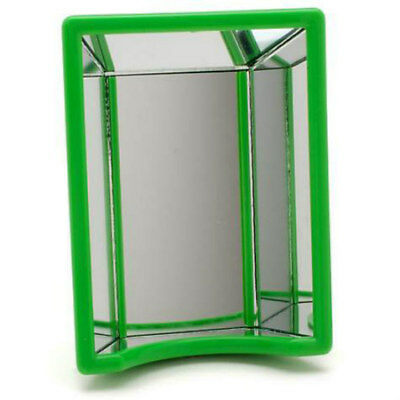 """JW Pet """"Hall of Mirrors"""", Bird Cage Mirror, Green, Used, Excellent Cond."""