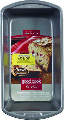 Goodcook 04026 Large Non-Stick Loaf Pan 13 in L x 9.1 in W x 7.1 in H, Steel