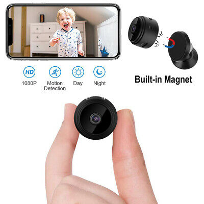 HD 1080P Wifi Spy Camera 150° Mini Hidden Camcorder Video Recorder Nanny Cam